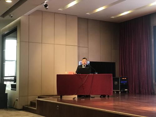 德衡律师集团执行副总裁刘克江为滨州律师讲授涉外争议法律实务